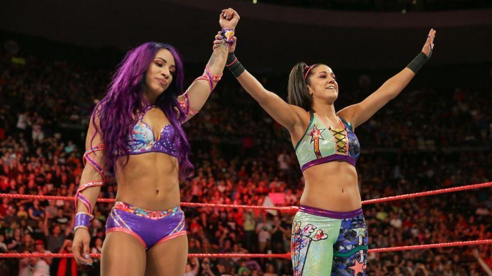 WWE Bayley Turns heel Sasha Banks, Attacked on Becky Lynch and Charlotte Flair