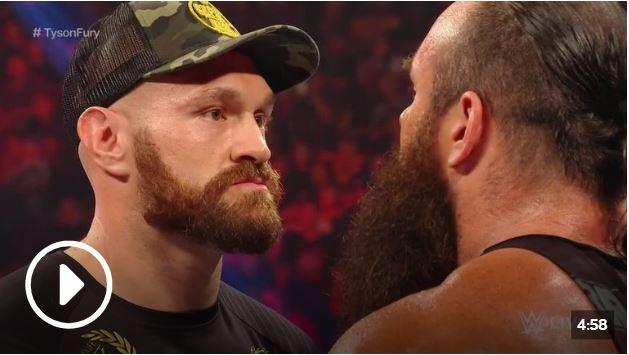 WWE News: Tyson Fury and Braun Strowman Brawl