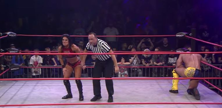 Tessa Blanchard Shocked the world by beating Brian Cage in gauntlet match 11/19/2019