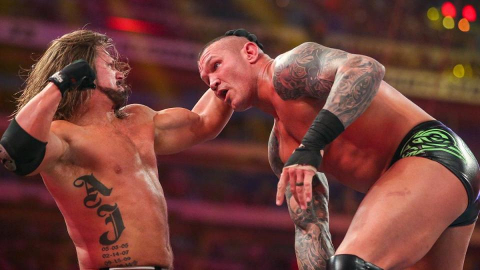 Randy Orton Vs AJ Styles Rivalry 2