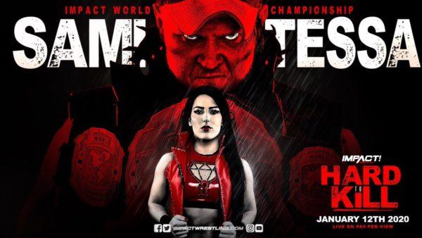 Tessa Blanchard Vs Sami Callihan: Hard to Kill 01/12/2020