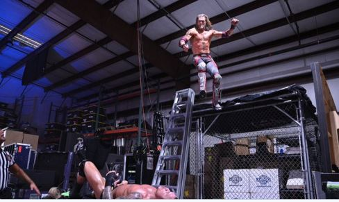 Edge destroyed Randy Orton : Wrestlemania Results