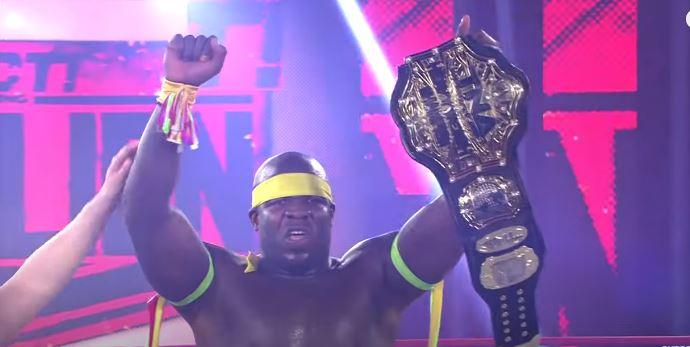 TNA Returning Moose TNA World Heavyweight Champion Rebellion Week 2