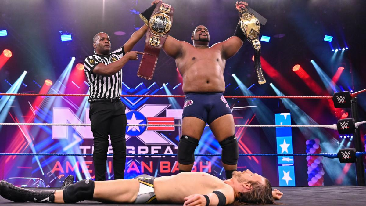 AEW need to learn from WWE: Keith Lee Vs Adam Cole 403 Days