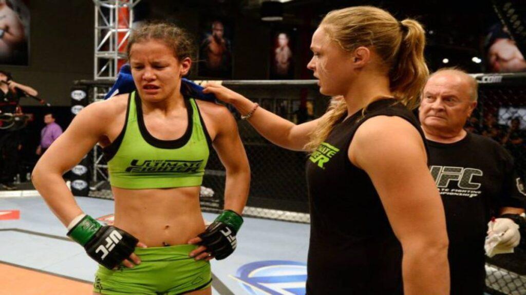 Shayna Baszler in UFC
